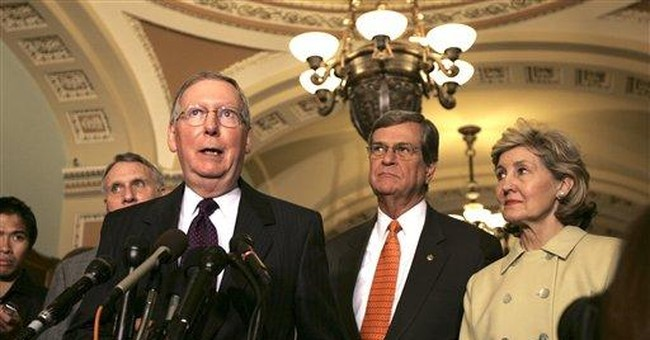 Bipartisanship and the Lott/Feinstein Love-fest