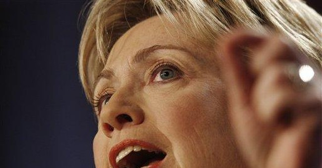 Hillary Praises WWII Win, Plans Iraq's Defeat