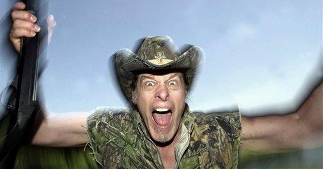 Ted Nugent talks turkey with Michigan governor