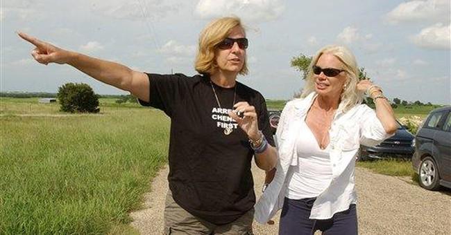 Run, Cindy Sheehan, Run!
