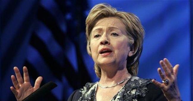 Hillary's Faith Goes Only So Far