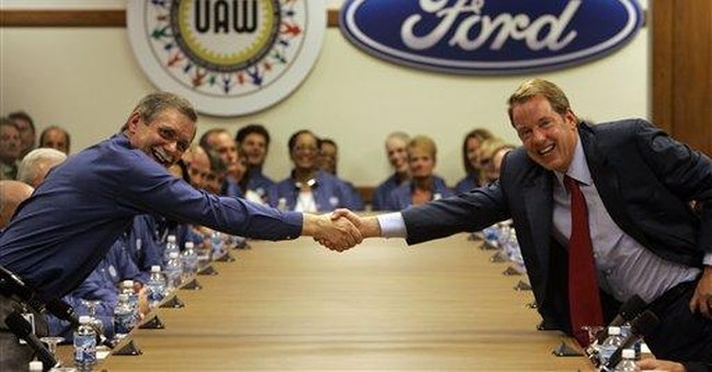 UAW calls leaders to Detroit, Ford deal possible