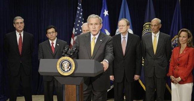 At recess, Bush still head of the class