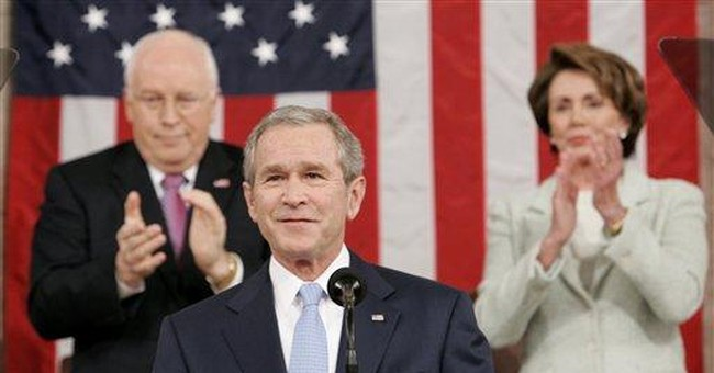 Bush shows steady conviction in chilly chamber
