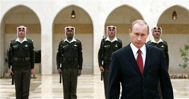 Russia steps back on the world stage