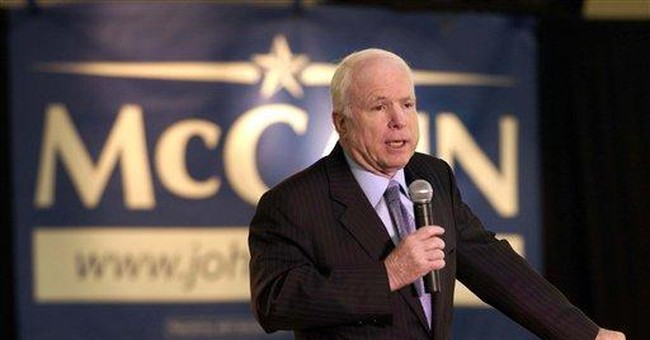 Is speech McCain's problem with conservatives?
