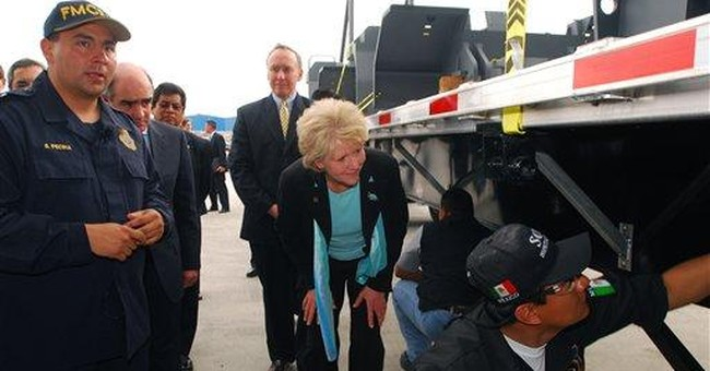 President opens border to Mexican trucks and drivers