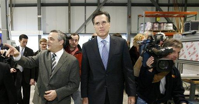 Romney, channeling Reagan, reveals economic agenda