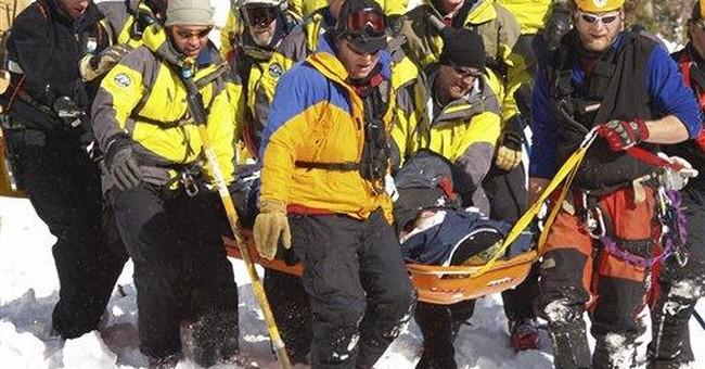 Weak snowpack, heavy snow raising avalanche danger
