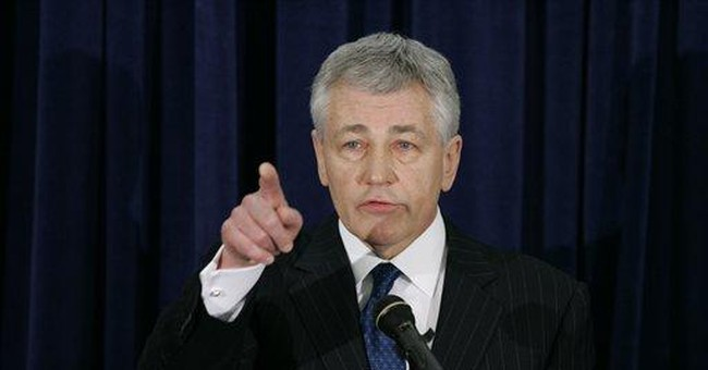 Sen. Hagel's Reckless Rhetoric