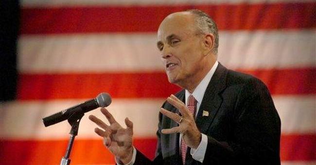 Rudy Giuliani, NO Fiscal Conservative