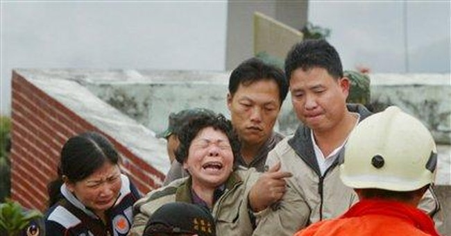 Taiwan rescue helicopter crashes; 5 missing