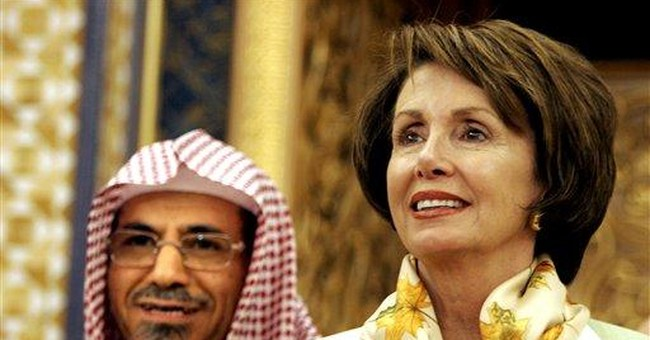 Gen. Pelosi's gift to our enemies