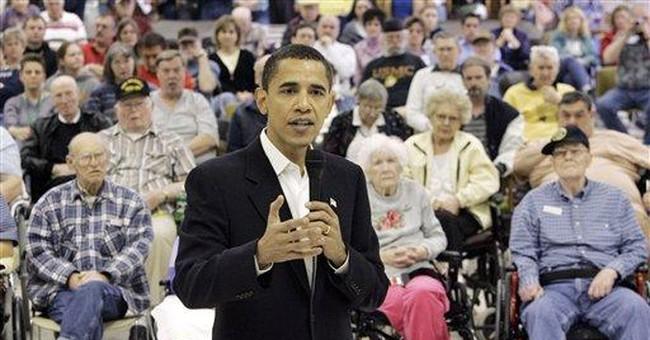Obama campaign: Still all sizzle, no steak