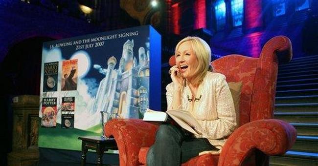 Popcorn: The 'Woke Left Has Started Burning J.K. Rowling Books