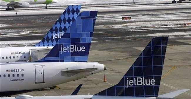 JetBlue Goes Full Tyrant, Ejects Family Because Toddler Could Not Wear a Mask