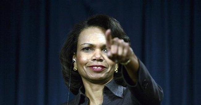 Stalking Condi Rice