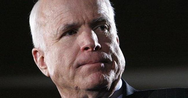 McCain: No More Mr. Straight Talk?