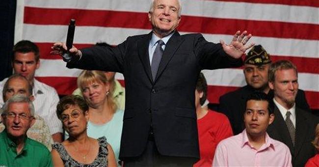 McCain's Straight Talk Needs Sizzle