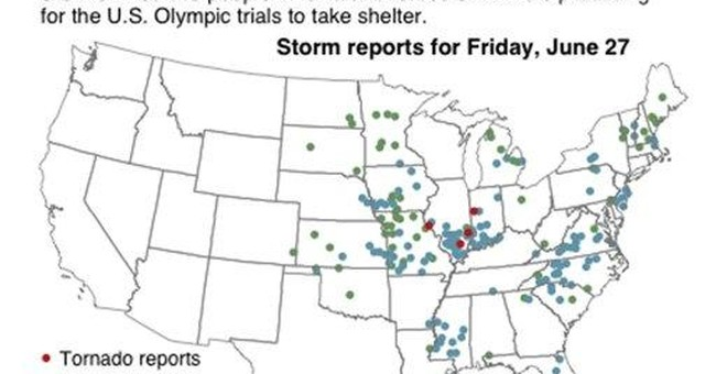 Officials: 5 dead in Arkansas storms