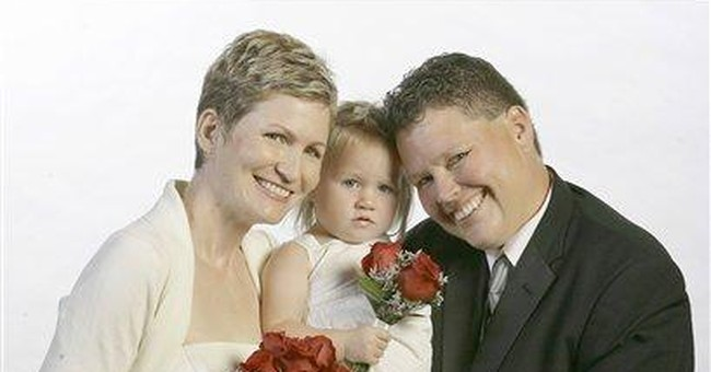 """Same-sex """"Marriage"""" the Same as Interracial Marriage?  Hardly."""