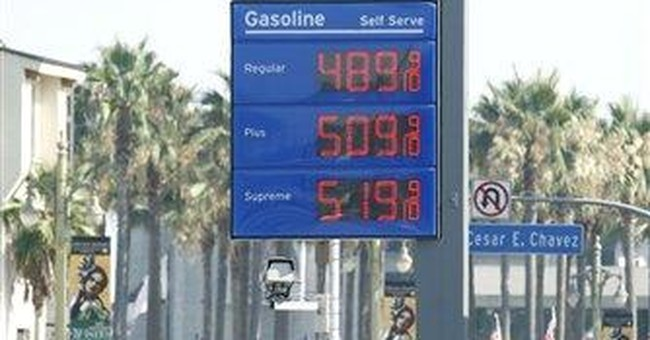 Hitchhiker's guide to gas prices: Don't panic!