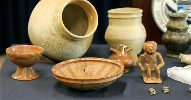 French police recover missing Roman treasures