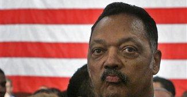Jesse Jackson Takes One For The Team