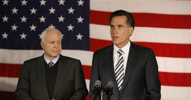 Romney: A Mistake for McCain