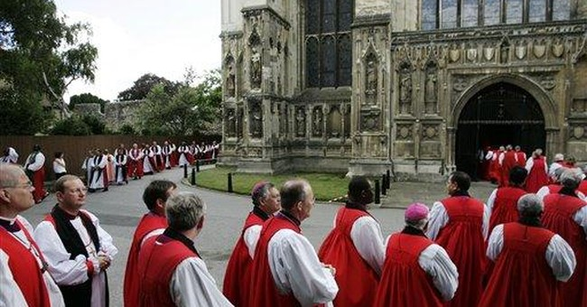 The Collapse of Anglicanism
