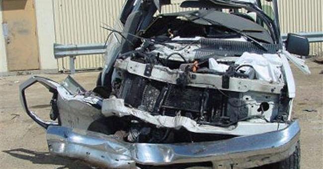 Woman dies, 14 kids treated in day care van crash
