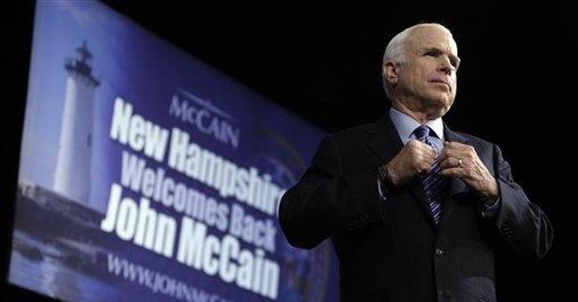 """McCain vs. """"Destiny"""""""