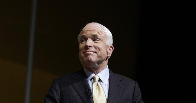 McCain is Forgetting the First Rule of Fight Club