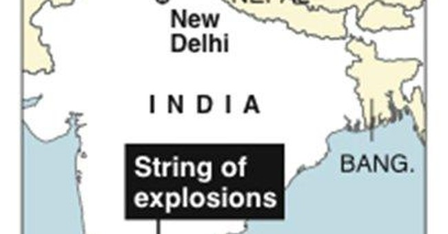 Gov't: Indian group likely behind Mumbai blasts