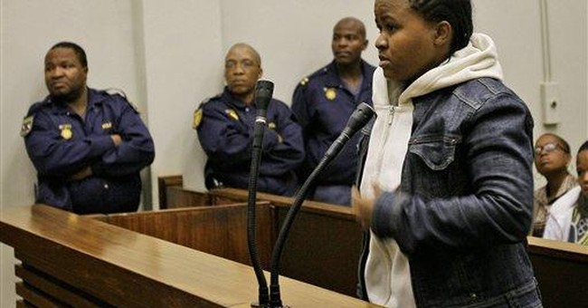 SAfrican convicted for whiskey spill on president