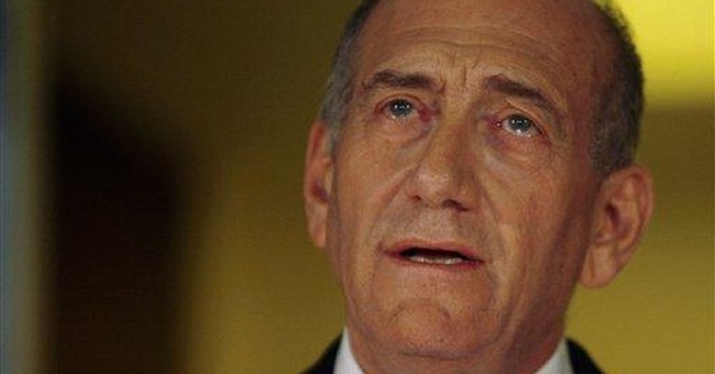 Exit Ehud Olmert (No Encore, Please)