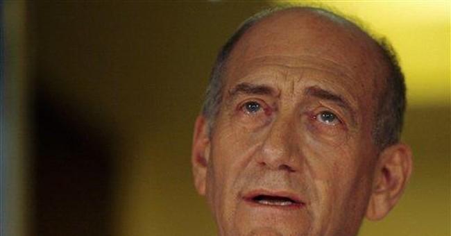 Exit Ehud Olmert (No Encore, Please)