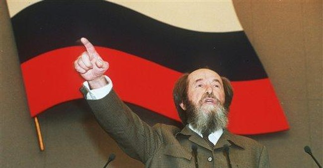 A Tribute to Alexander Solzhenitsyn