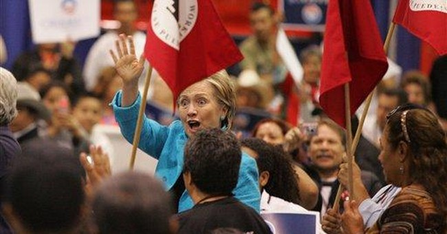 Hillary Chides GOP Ads About Her