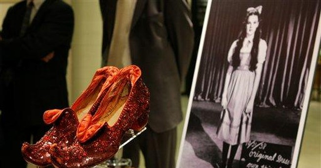 Ruby slippers from 'Wizard of Oz' to be conserved