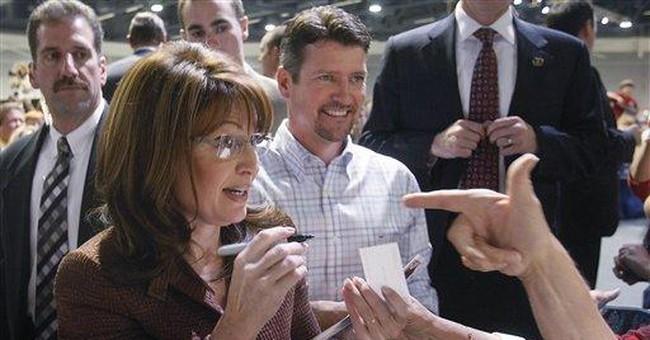 Down Market Palin's Fault?  Nah...