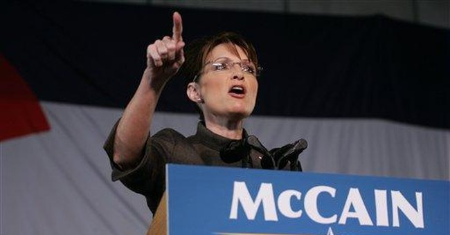 The Times in a Tizzy Over Palin