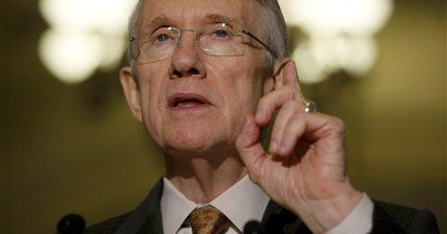 Reid Uses Clout to Trip Up McCain
