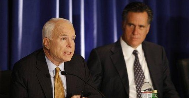 McCain Should Say No to Bush and Senate Democrats on Wall Street Bailout