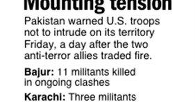 Officials: US missiles kill 4 in NW Pakistan