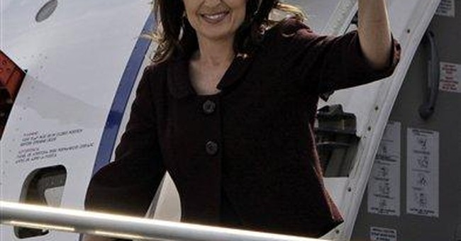 Palin Wins Big With A Reagan-Like Flair