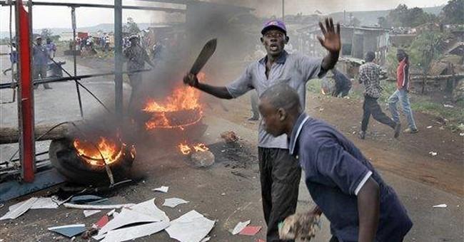 Halting Kenya's Chaotic Spiral