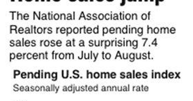 Summary Box: Contract signings for US homes down