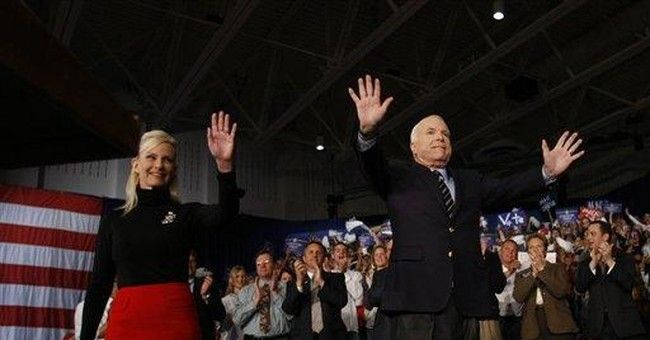 DOW = Gallup; McCain's Problem