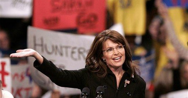 Palin argues for economic freedom